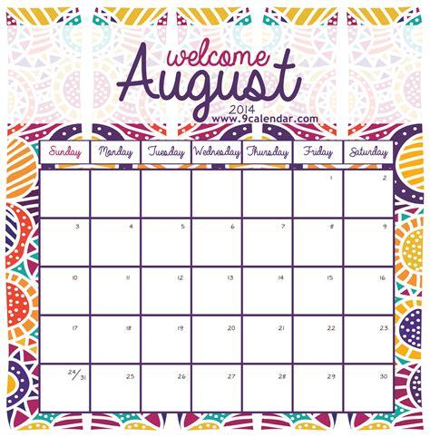 printable calendars cute fill your diary dreambelievewakeachieve