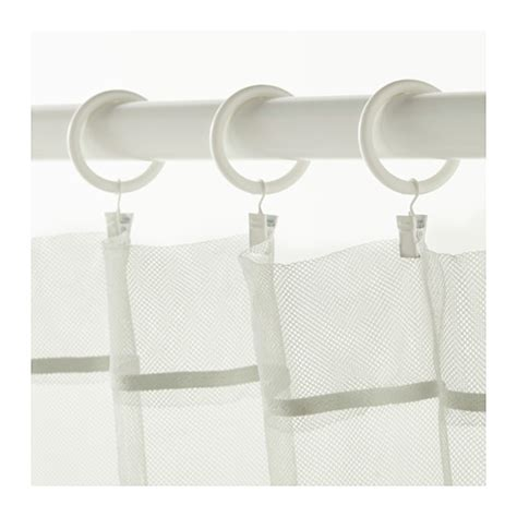 curtain hooks ikea syrlig curtain ring with clip and hook white 38 mm ikea