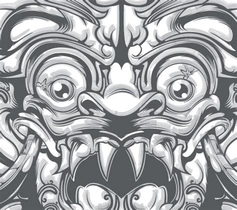 tattoo goo bali masks the mask and demons on pinterest