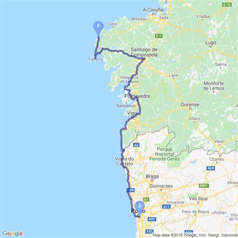 Camino De Santiago Portugal by Portugal Camino Coastal Camino Portugu 233 S Caminho