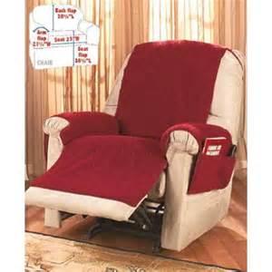 fleece recliner covers burgundy walmart