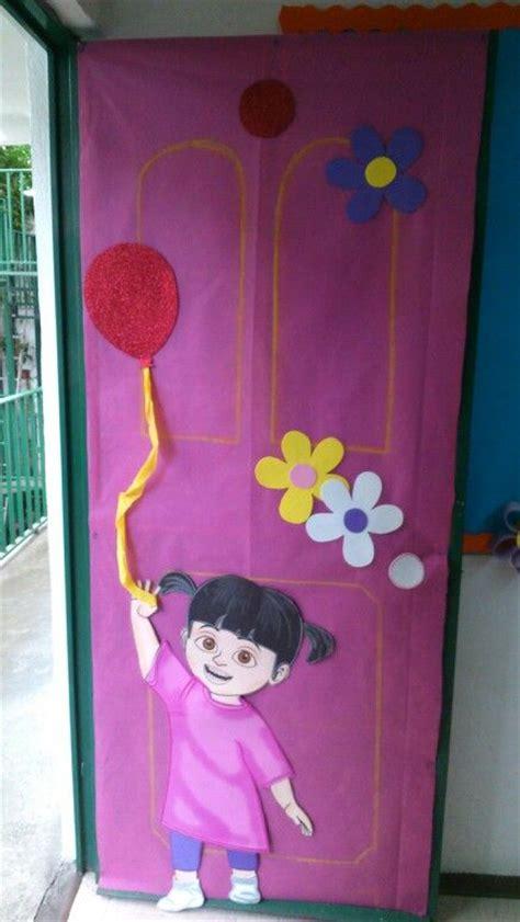 Monsters Inc Door Decorations monsters inc door decoration classroom