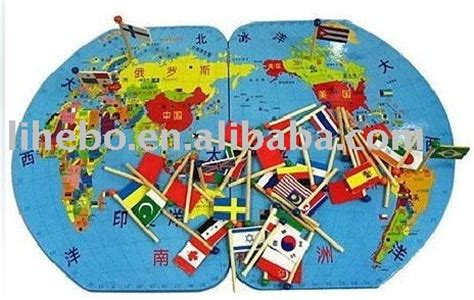 flags of the world puzzle large three dimensional map of the world map flags