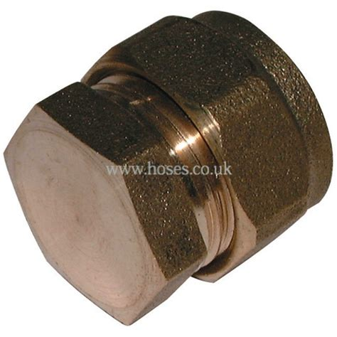 Plumbing Compression Fitting by Stop End Metric Brass Plumbing Compression Fitting