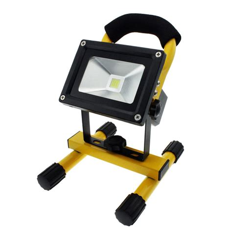 cordless led work light rechargeable cordless rechargeable led flood spot work light l