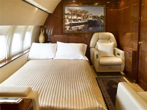 private plane bedroom private jet boeing 737 200 advanced bedroom interior 1