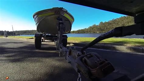 boat r road off road 4x4 boat trailer youtube