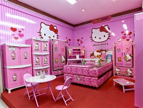 hello kitty bedroom decor 10 out of this world hello kitty bedrooms