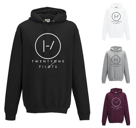Hoodie Jumper Twenty One Pilots 1 twenty one pilots b hoodie jh001 band logo jumper top