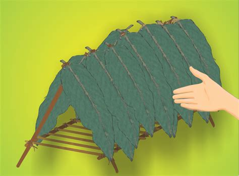 how to a shelter how to build an a frame shelter 6 steps with pictures wikihow