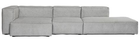 hay mags soft sofa soft mags corner sofa left armrest l 302 cm light grey