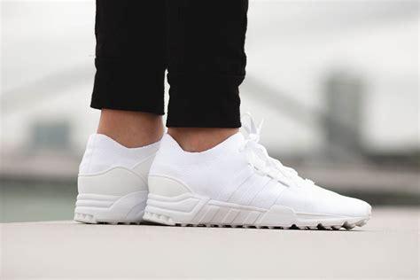 Adidas Eqt Support Adv Black White Premium Quality adidas originlas eqt support primeknit quot white quot hypebeast