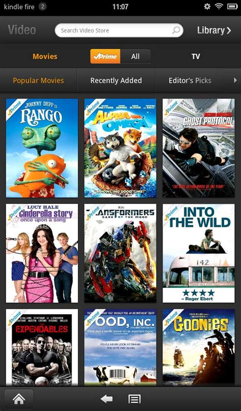 amazon movie amazon prime and the kindle fire together they go best