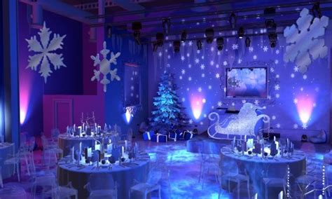winter wonderland theme wedding reception the gallery