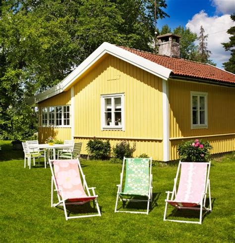 cottage colors a swedish summer cottage with a colorful interior