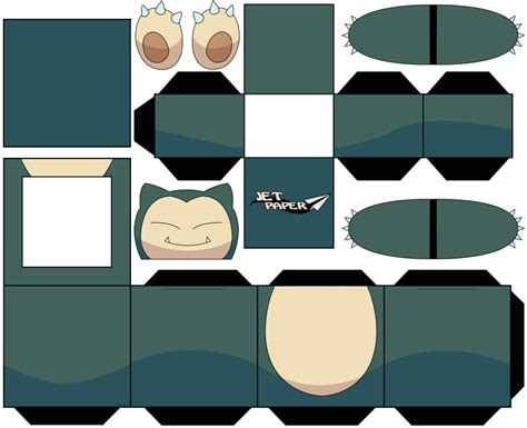 Snorlax Papercraft - snorlax by jetpaper on deviantart