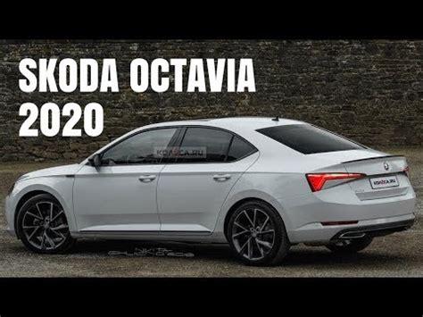 2020 Skoda Octavias by Skoda Octavia 2020 Next Wtih Sharper Fascia