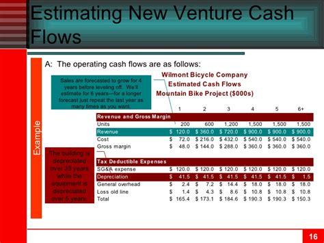 exle of cash flow estimation chapter 10 cash flow estimation