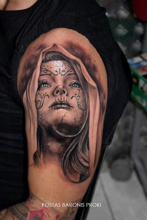 santa muerte tattoos santa muerte muerte tattoos