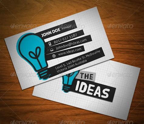 business card template ideas personal business card design ideas inspirational 15