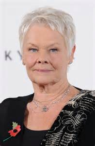 judi dench hairstyle front and back of judi dench hairstyle front and back of head short short