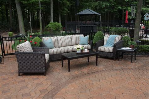 all weather wicker patio furniture all weather wicker