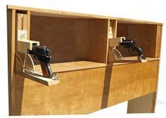 tactical headboard gun cabinet on pinterest gun cabinets gun safes and