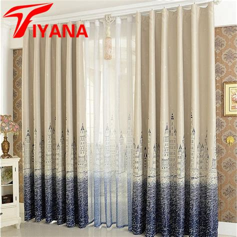 Stores To Buy Curtains Aliexpress Buy Mediterranean Curtain Finished Blind