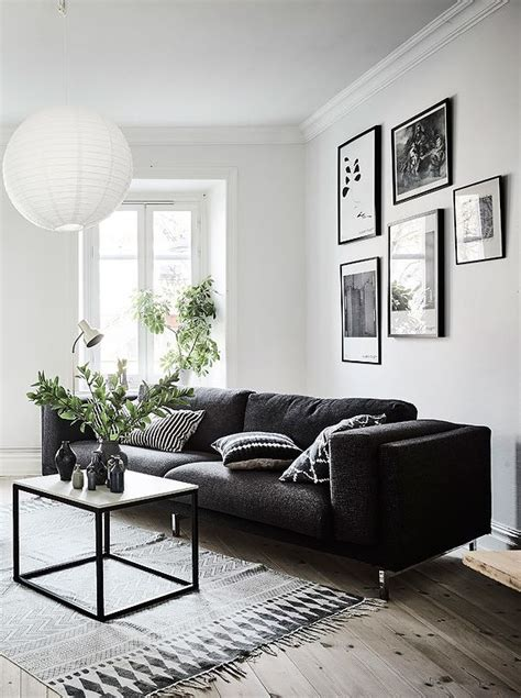 black couches living rooms the 25 best black couch decor ideas on pinterest black