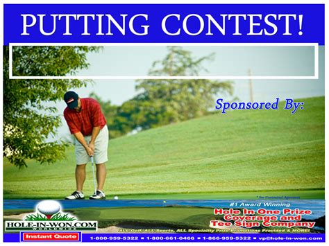 Giveaway Contest Ideas - putting contest ideas putting contests ideas