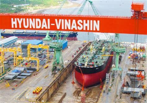 Hyundai Shipyard by Korean Owned Operated Hyundai Vinashin