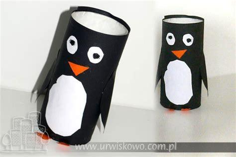 Penguin Toilet Paper Roll Craft - toilet paper roll penguin craft pingwin z rolki po