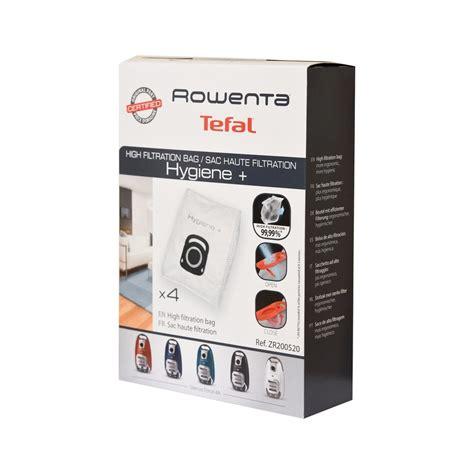sac hygiene rowenta silence 4a aspirateur zr200520