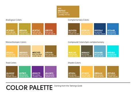 workshop layout guidelines twinings brand guidelines on behance