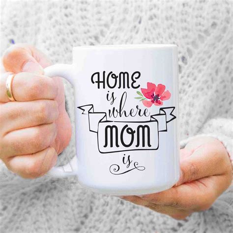 christmas gifts for mom from daughter gifts for mom from daughter quot home is where mom is quot coffee