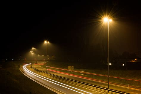 Lu Led Jalan Raya free stock photo of car lights highway