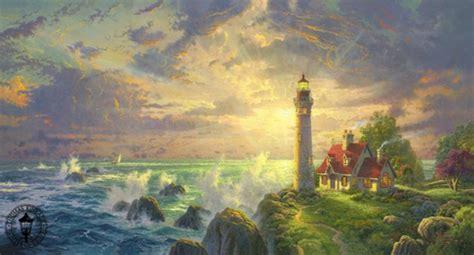 the painter of light kinkade the painter of light