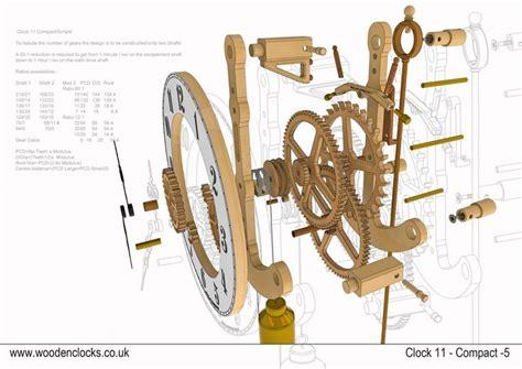 wooden clock wooden clock plans clock wooden clock