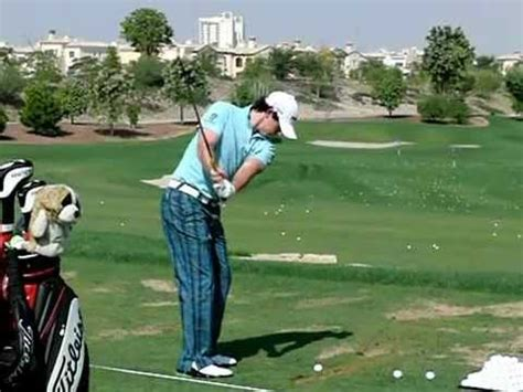 rory iron swing rory mcilroy slow motion golf swing iron tl 2011