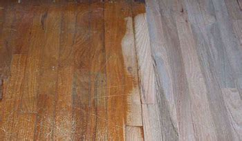 Bleaching Hardwood Floors by Penservices Inc