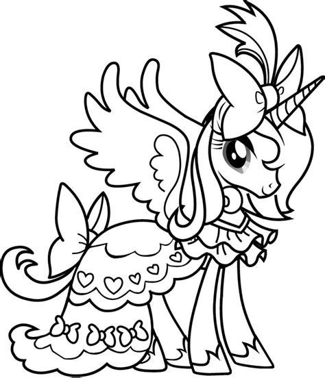 princess coloring pages 4 u kolorowanki z bajki kucyki pony do wydruku pokoloruj świat