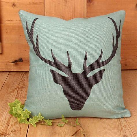 federa cuscino federa cuscino tirolese colori a scelta testa di cervo