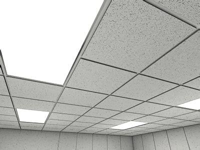 ceiling tiles 2010 3d model