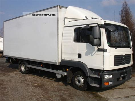 Box Truck With Sleeper by Tgl 8 180 M 246 Belkoffer Lift Sleeper Cab 2007 Box