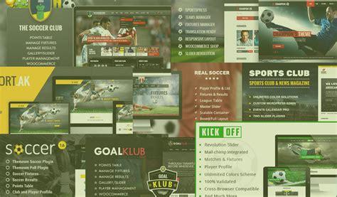 themes wordpress soccer football club website premium wow best templates
