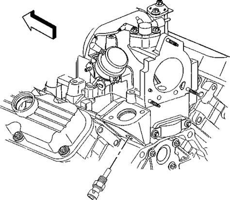 Repair Guides Coolant Temperature Sensor Removal
