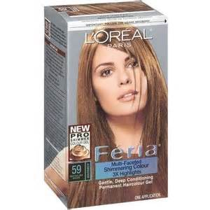 toffe hair color l oreal paris feria haircolor hot toffee 59 l or 233 al