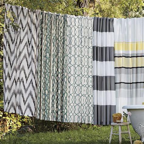 west elm shower curtains chevron shower curtain west elm