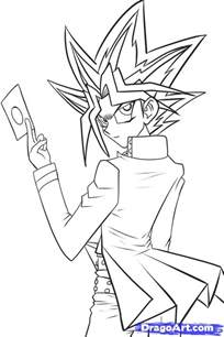 how to draw yami step by step anime characters anime