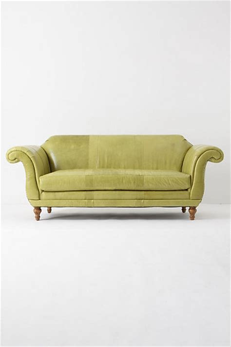 anthropologie sofa cotswold sofa celadon contemporary sofas by